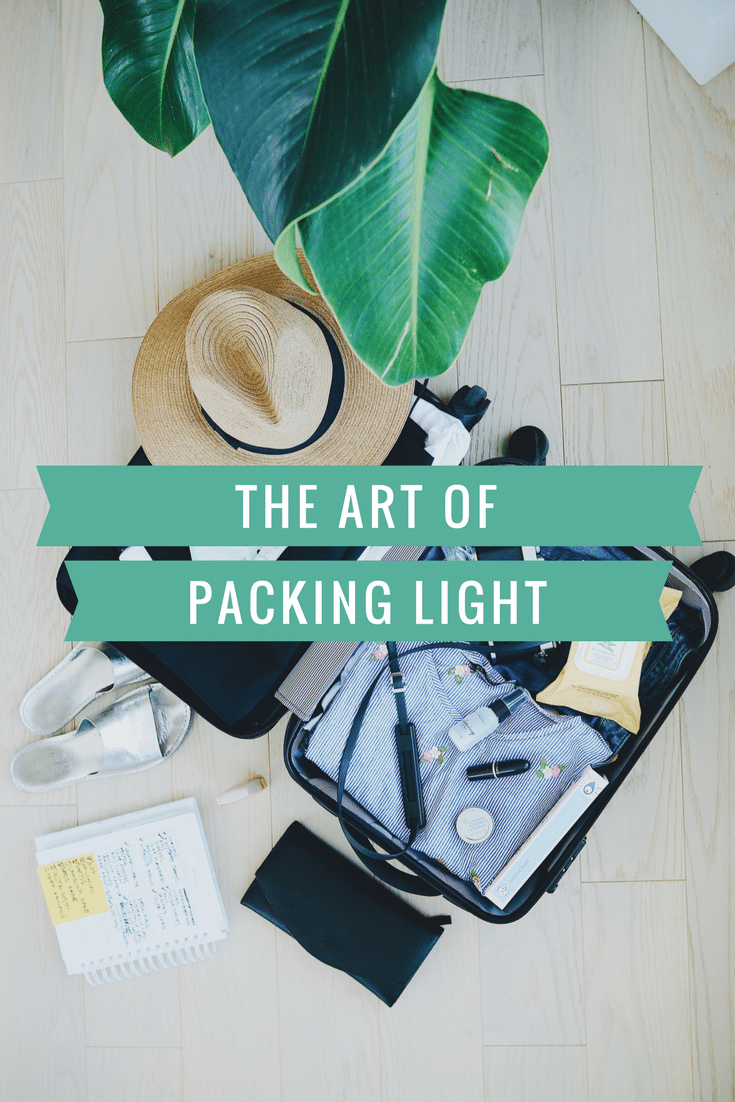 The Art of Packing Light - Learn how to become a carry on traveler, and save money on every trip! #packingtips #traveltips #travel #travelhack