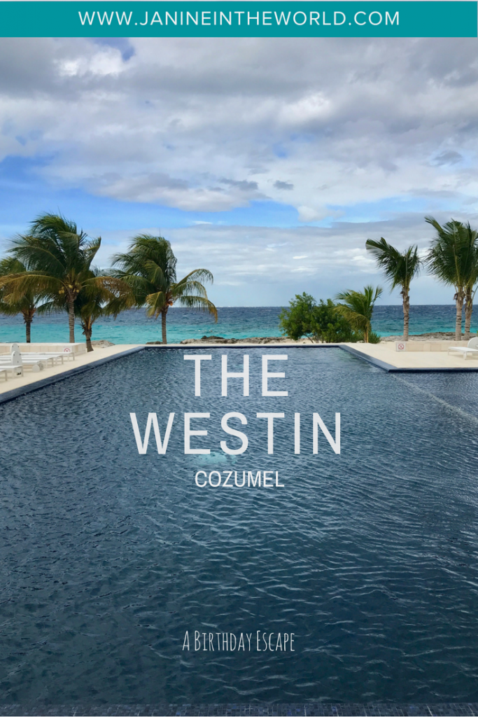 Cozumel Island is one of the most popular tourist destinations in Mexico's Riviera Maya. There are tons of amazing resorts to choose from, but I was drawn to the recently opened The Westin! Here's a full review of my relaxing birthday visit to The Westin Cozumel.
