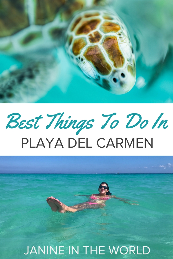 Playa del Carmen is the heart of Mexico's Riviera Maya, and it's the ultimate destination for fun in the sun! From snorkelling in the turquoise sea or exploring ancient ruins, there's never a dull moment. Click through for some of the best things to do in Playa del Carmen!