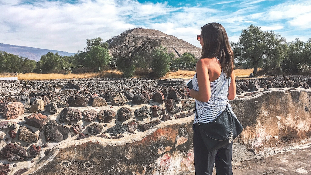 Teotihuacan is just one of many wonderful day trips from Mexico City