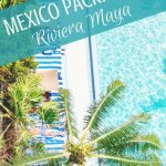 Mexico Packing List Riviera Maya - This is a comprehensive list of everything you need to pack for Mexico (in your carry-on)! Whether you're hitting the beach in Tulum, exploring Mayan ruins at Chichén Itzá, or relaxing by the pool in Cancún, this Mexico packing list has you covered! #mexico #travelmexico #rivieramaya #packing