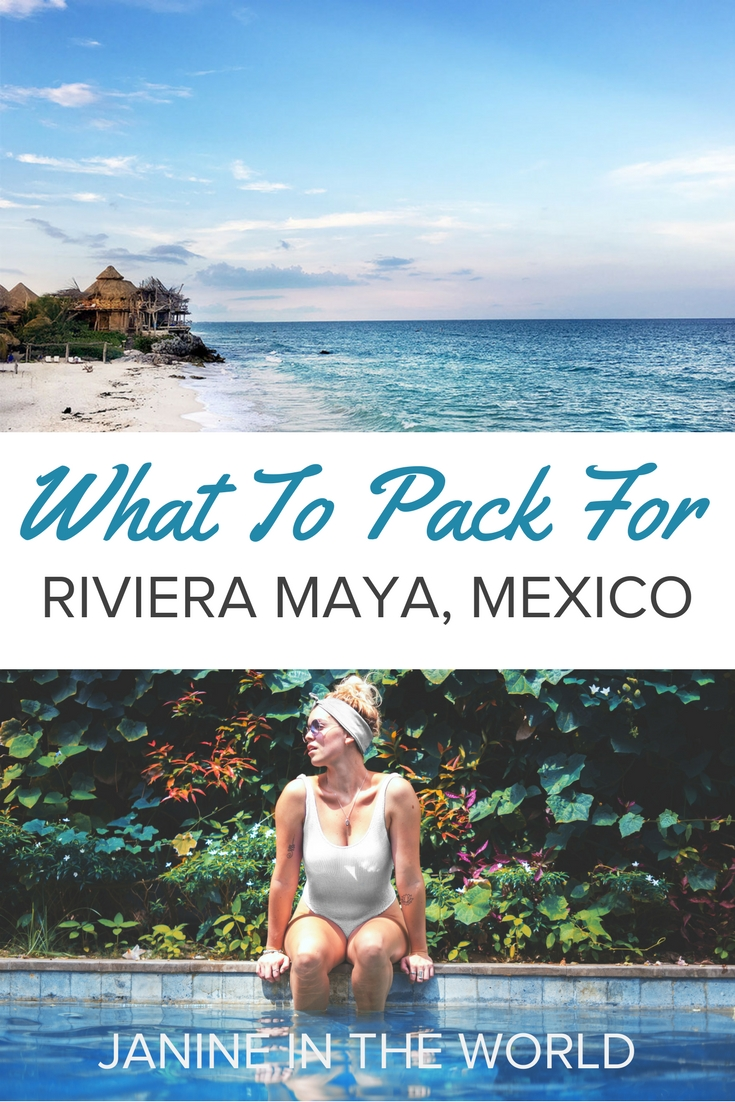 What to Pack For Riviera Maya, Mexico - No more stressing over what to pack for Mexico, stop! This packing list covers everything you need to pack for your trip to the Riviera Maya. #mexicotravel #visitmexico #mexico #packing #rivieramaya