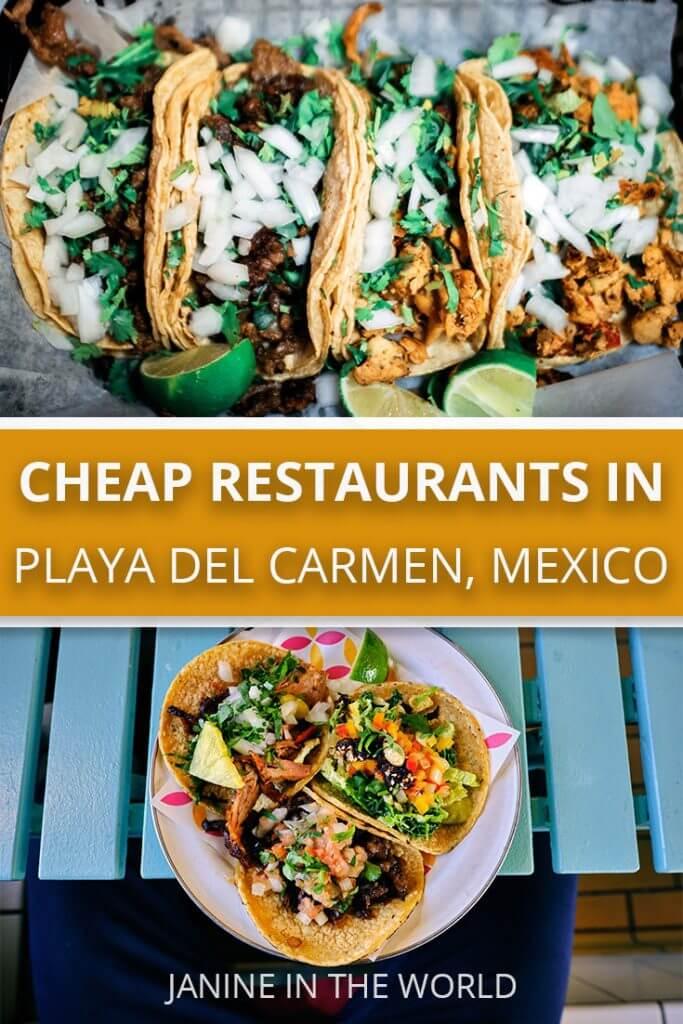 Cheap Restaurants in Playa del Carmen, Mexico