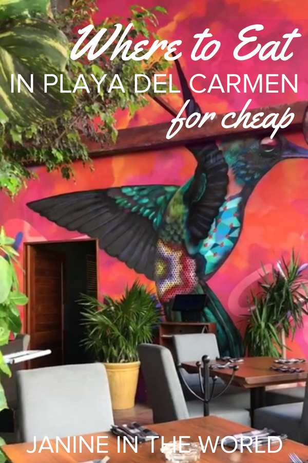 It can be a struggle to find delicious but affordable restaurants in resort towns. I don't know about you, but I believe in having it all, so I put together a collection of the best cheap eats in Playa del Carmen! Now your belly AND your wallet can be happy! #mexicotravel #rivieramaya #mexico #travel #budgettravel #playadelcarmen
