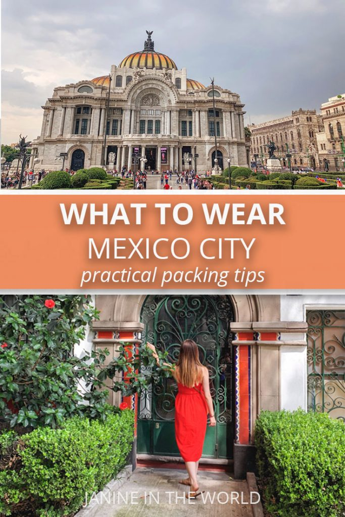What to Wear in Mexico City