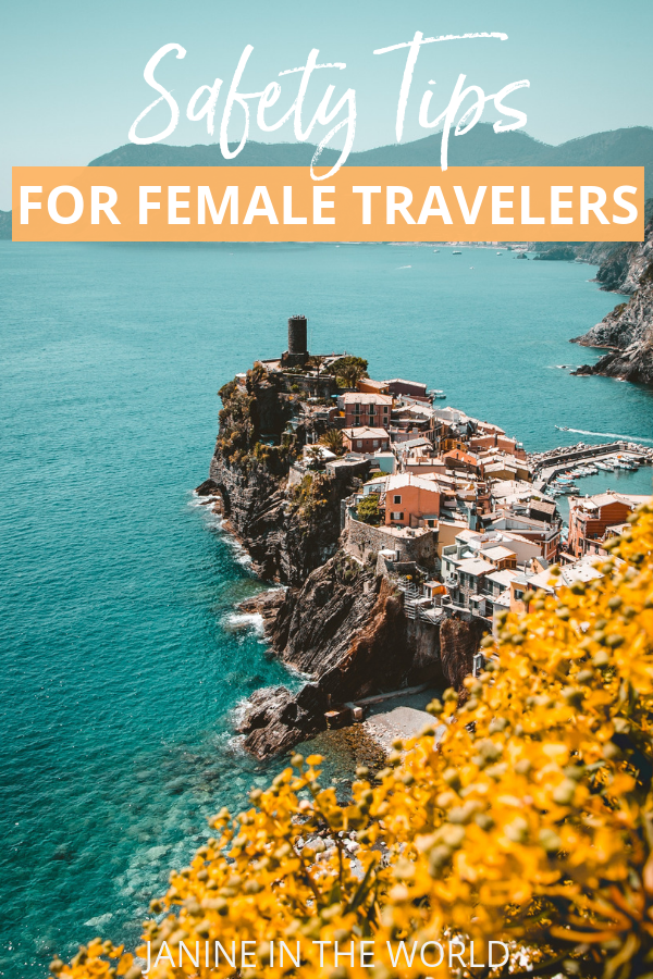 Protect yourself from theft, assault, and more with these travel safety tips from female travel bloggers. #solotravel #femaletravel #travelsafety #traveltips #travel