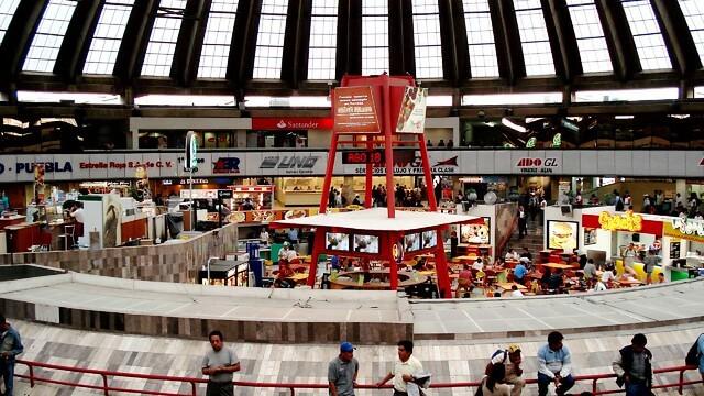 Mexico City bus station, TAPO