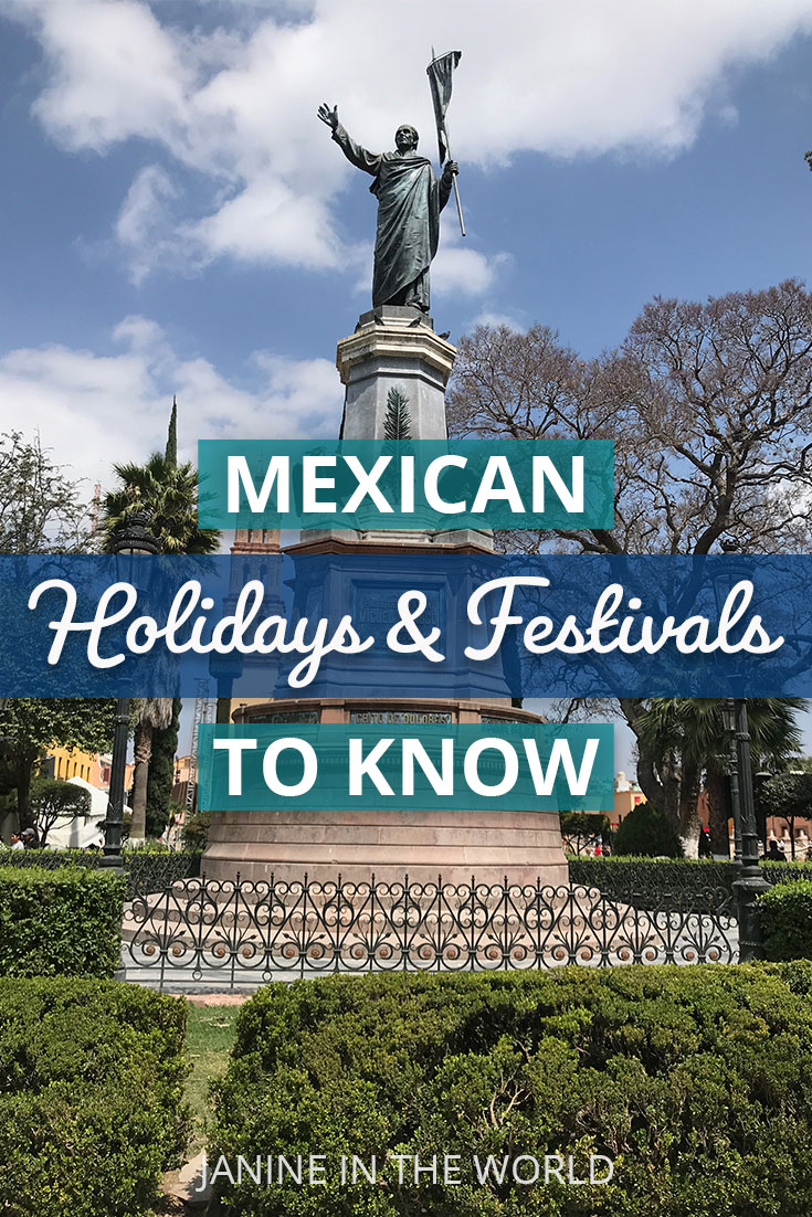 Mexico celebrates a plethora of holidays, and many of them are fun for extranjeros as well! If your next trip to Mexico happens to coincide with one of these events, participating can only help deepen your interest in Mexican culture. Click through to learn more about Dia de Muertos, Guelaguetza, Cervantino, the REAL Independence Day, and more! | Mexico | Mexico Travel | Cultural Travel | #culturaltravel #mexico #mexicotravel #mexicanculture