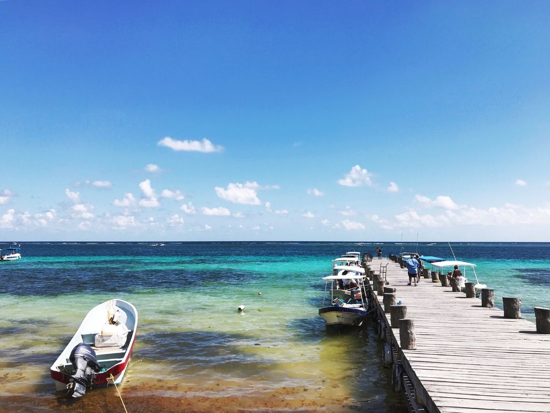 Puerto Morelos is the perfect place to spend a beach day!