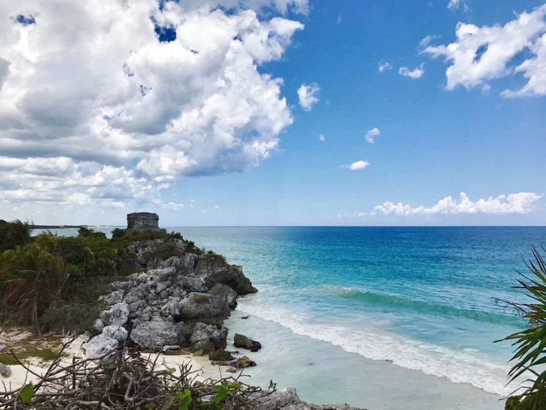 The Tulum ruins are incredible!