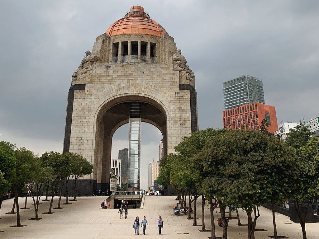 the monument of the revolution is an essential stop on your Mexico City itinerary