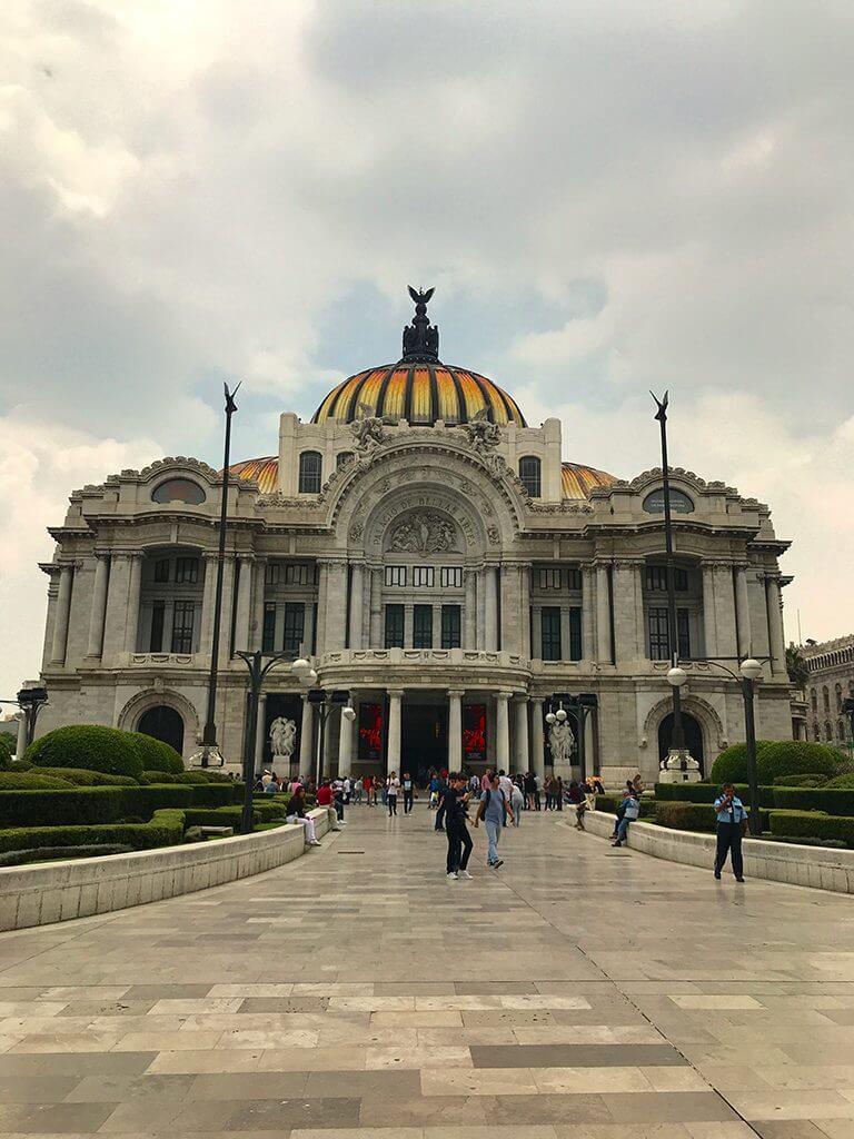 Palacio de Bellas Artes is a must-see in Mexico City