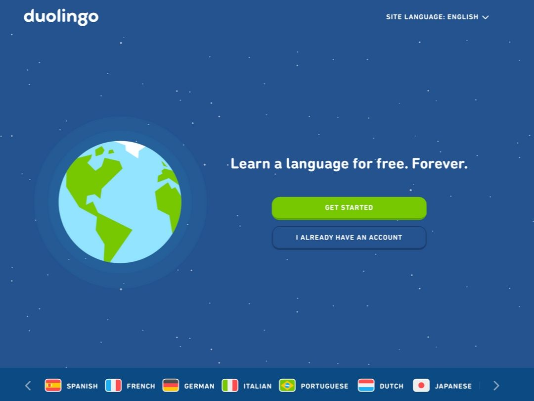 learn spanish for free online with duolingo
