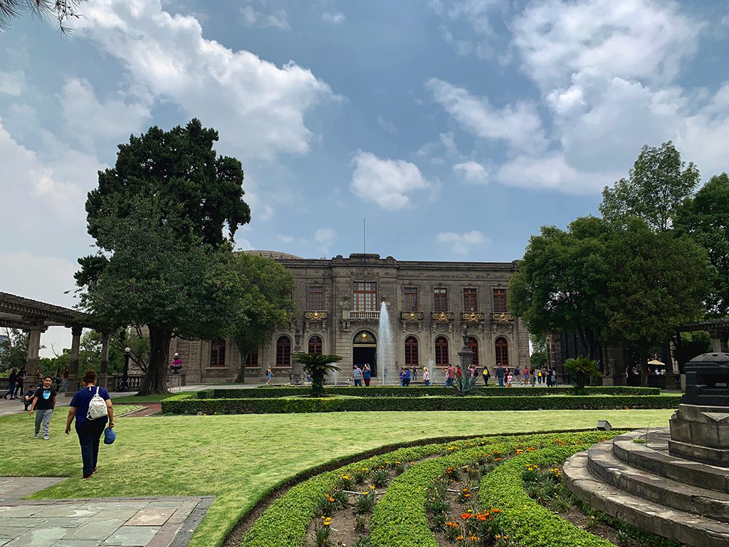 Don't forget to visit the Castillo de Chapultepec during your Mexico City trip