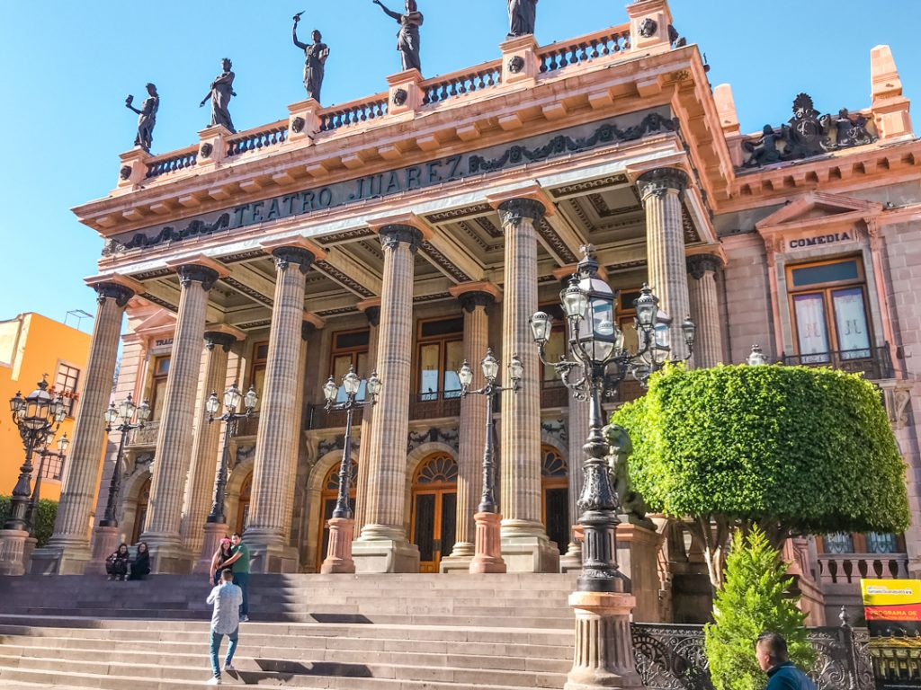 Visiting Teatro Juarez is one of the best things to do in Guanajuato!