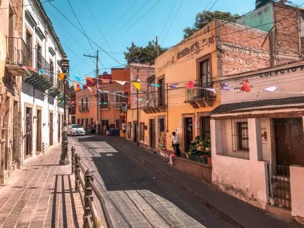 The colorful streets of Guanajuato, Mexico