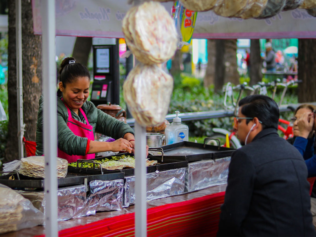 Even in markets, haggling isn't very common in Mexico.