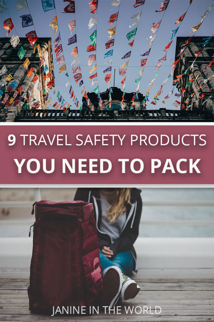 travel safety products for women