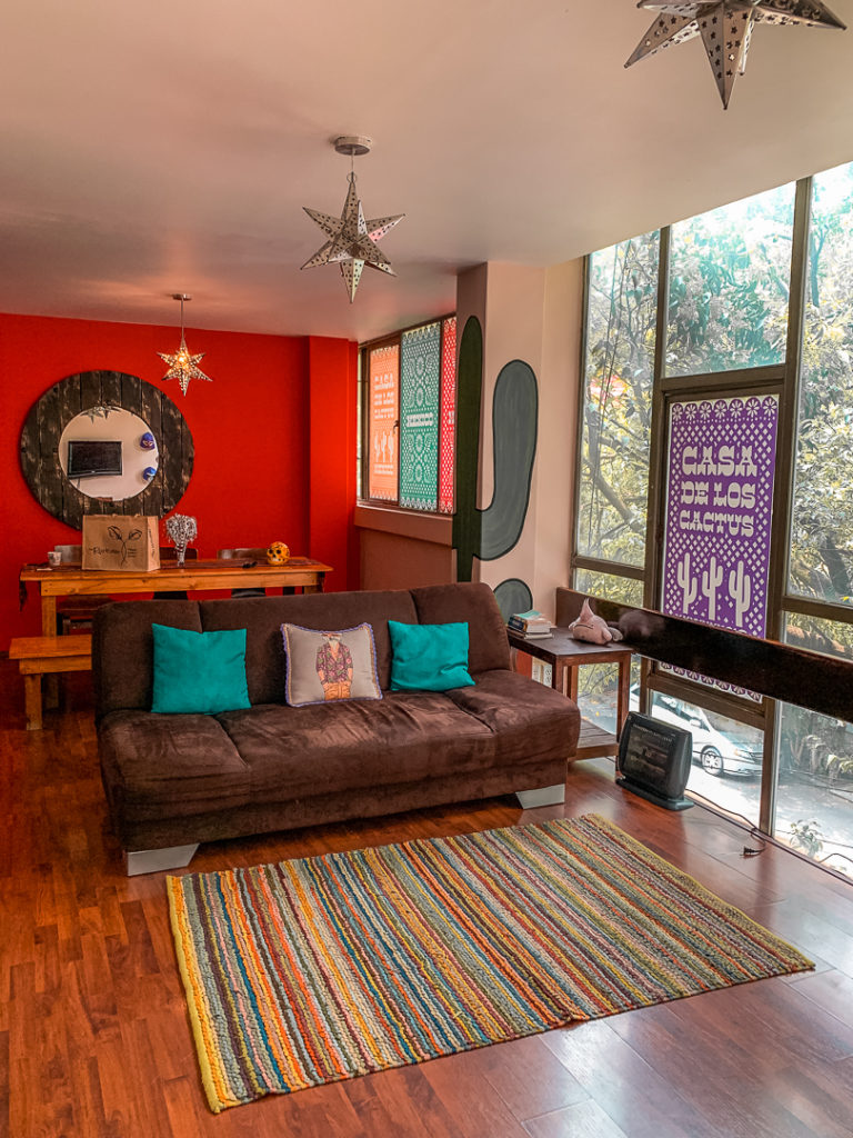 Staying at an airbnb in Condesa is safe and convenient for visiting Mexico City