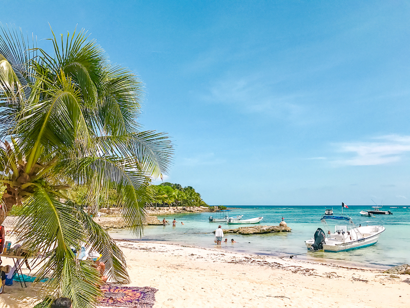 Akumal Bay is only about 40 minutes from Playa del Carmen