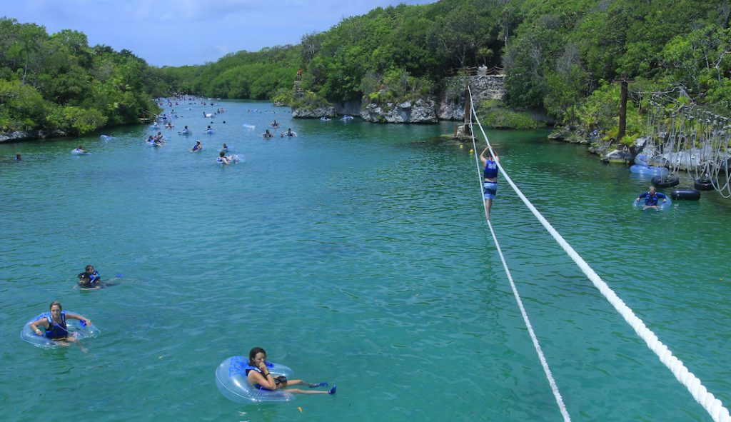 xel ha is one of the best things to do in riviera maya