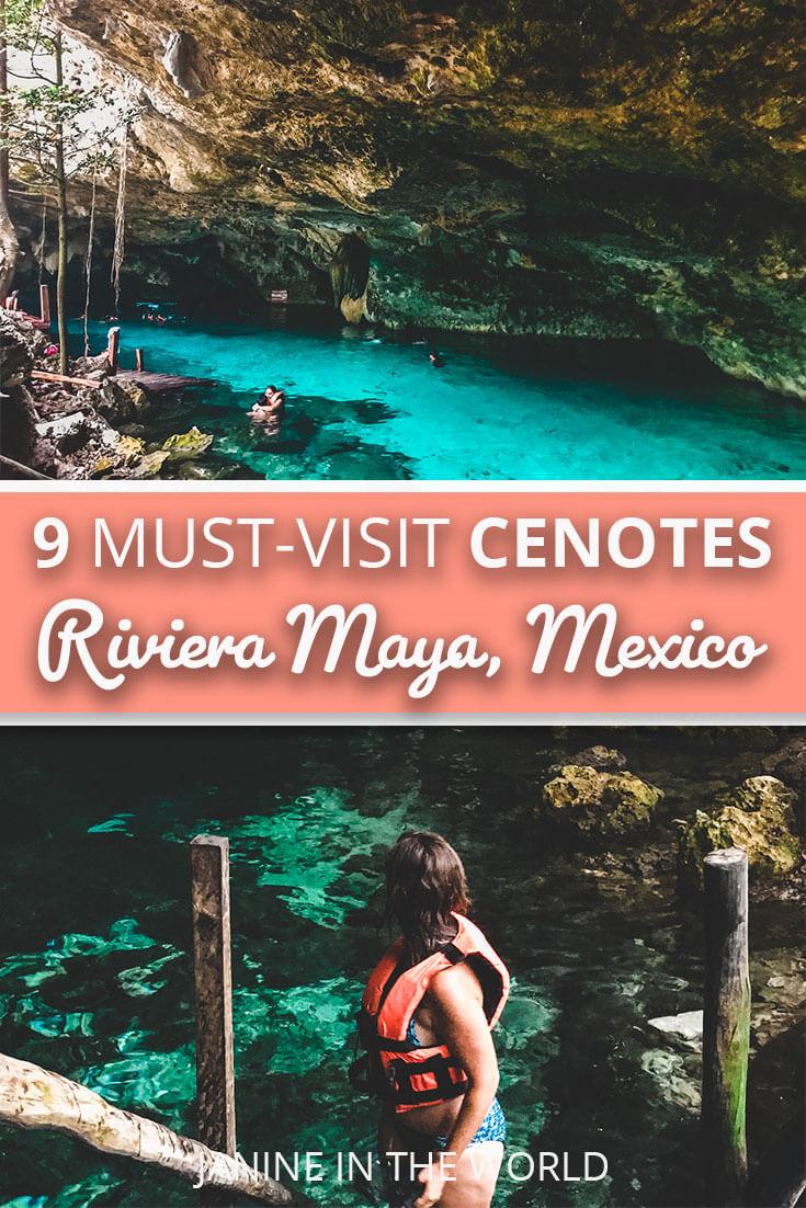cenotes in riviera maya mexico and yucatan