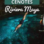 Cenotes in Rivera Maya Mexico