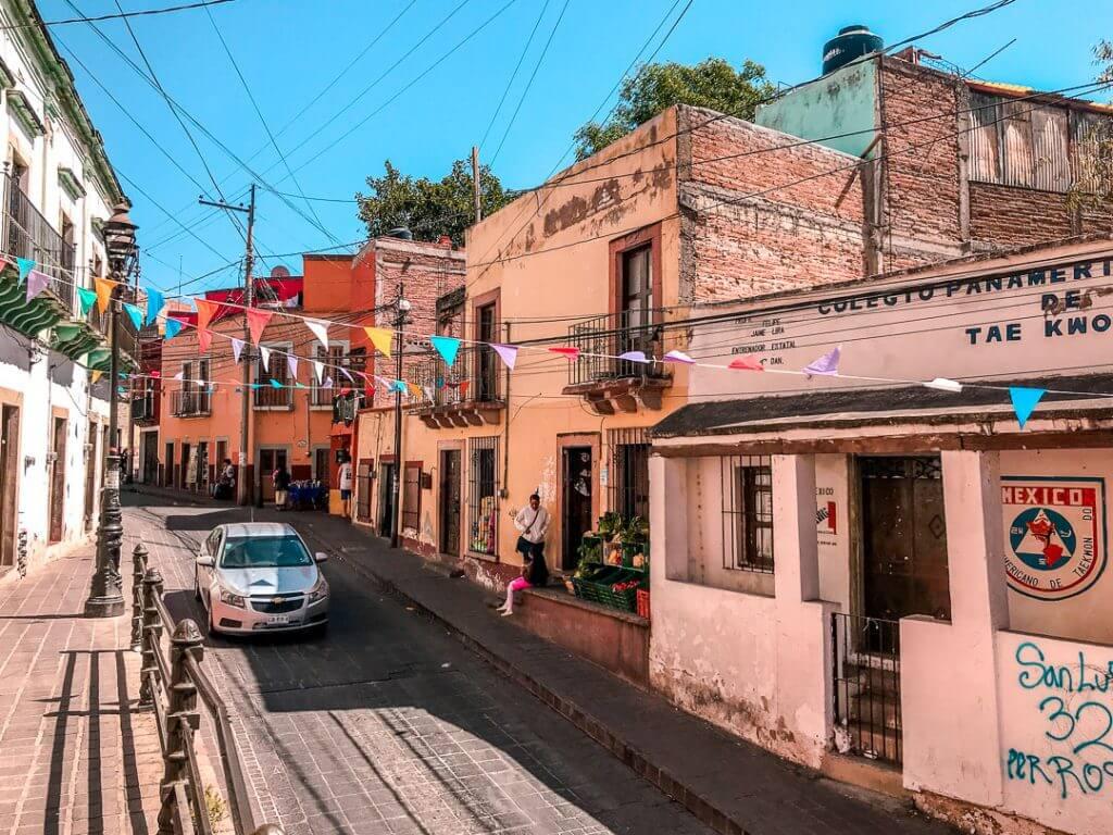 Guanajuato, Mexico streets