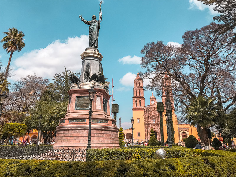 Dolores Hidalgo makes a great stop on your Central Mexico backpacking route