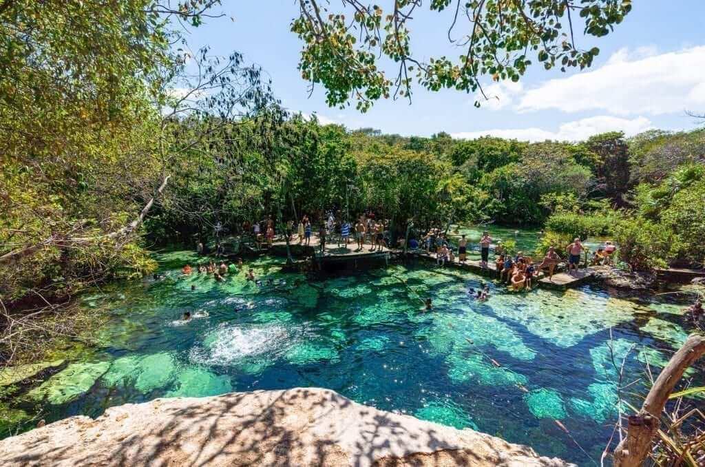 Cenote Azul, Riviera Maya