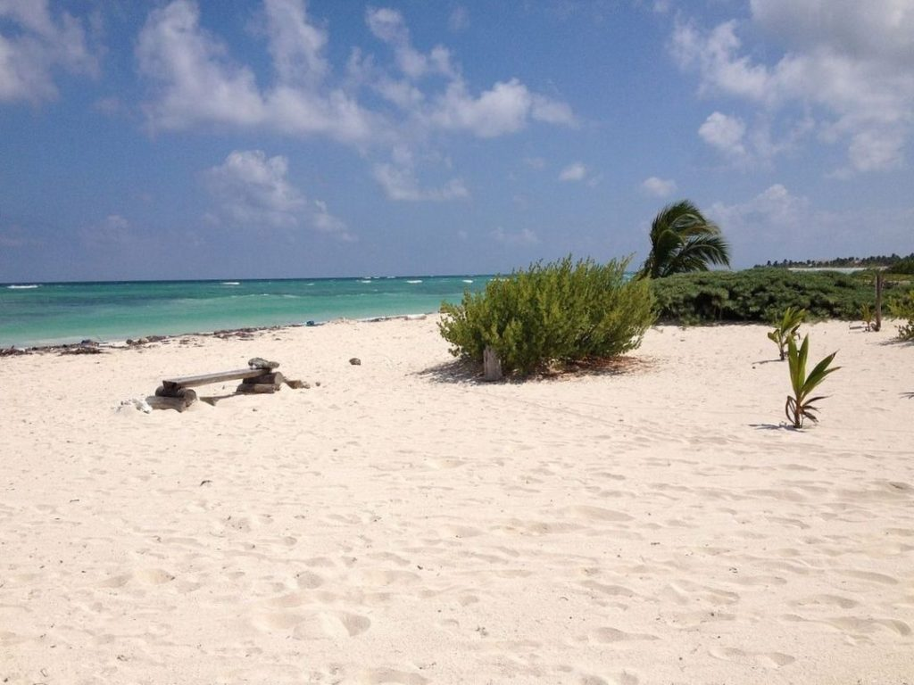 Mahahual, Mexico is a lesser known destination on Mexico's Yucatan peninsula