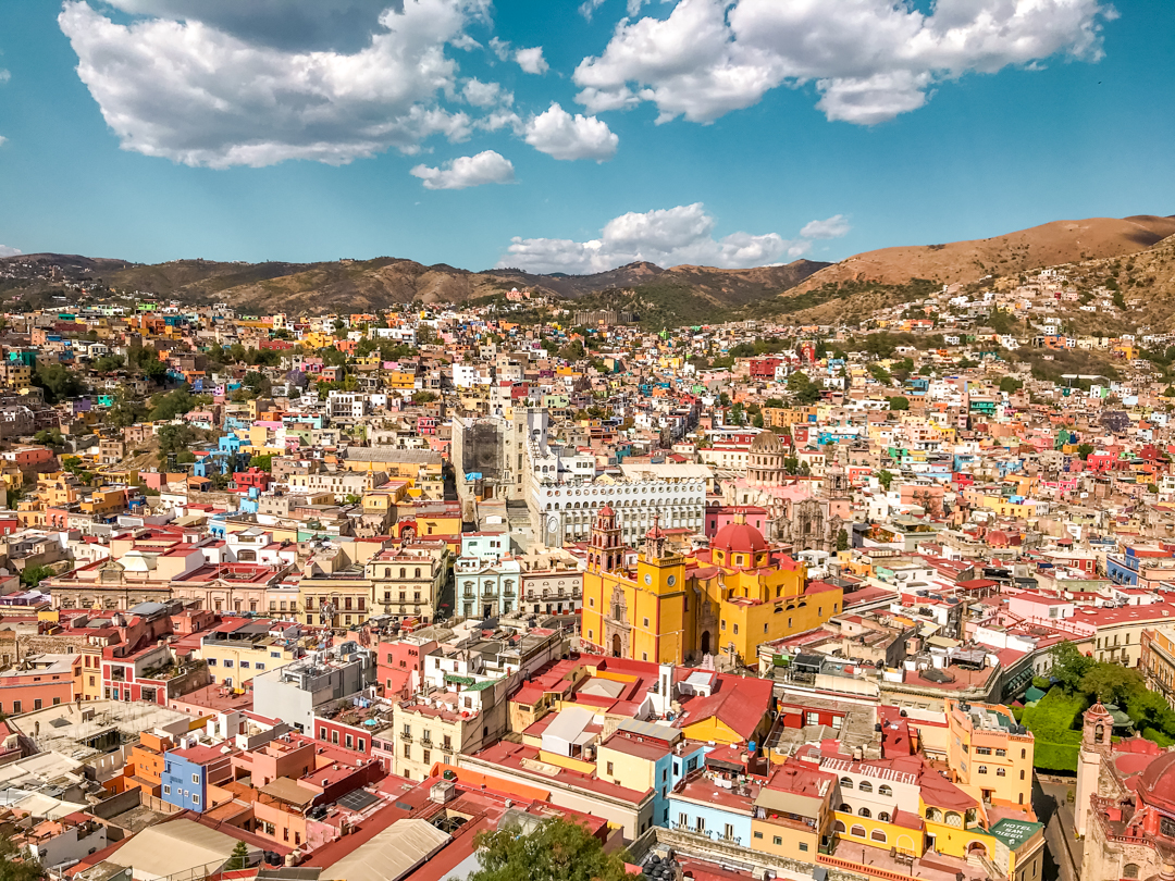 Guanajuato is a popular place to go in Mexico