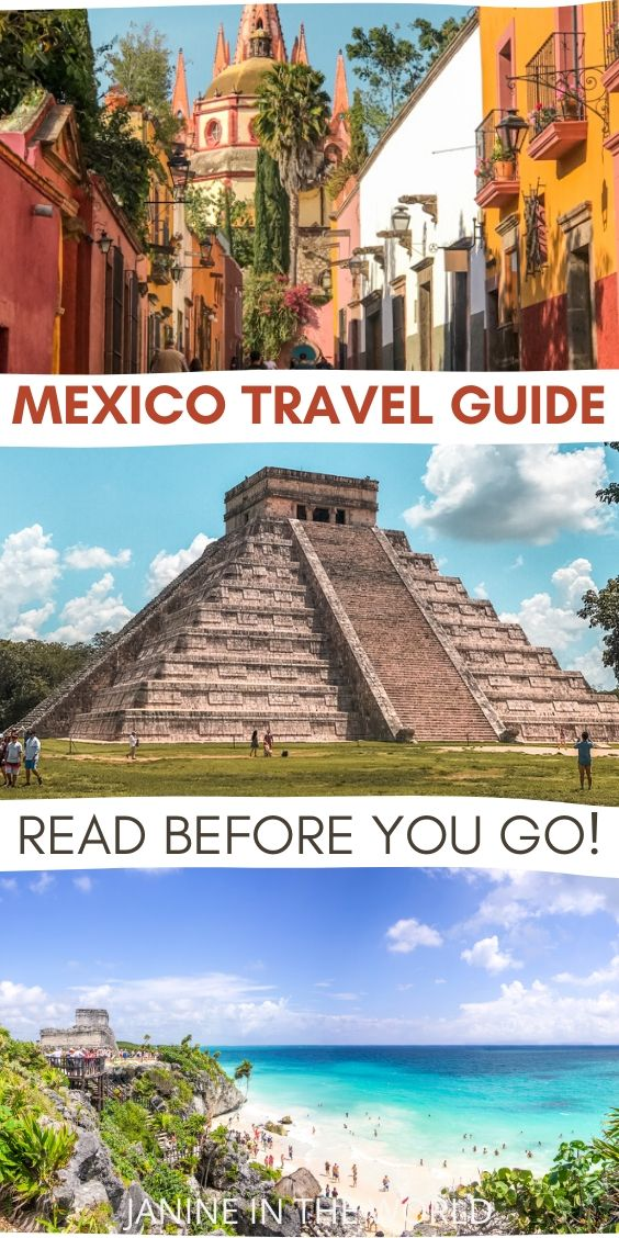 Mexico Travel Guide: Mexico Travel Guide Read Before You Go_tall Pin