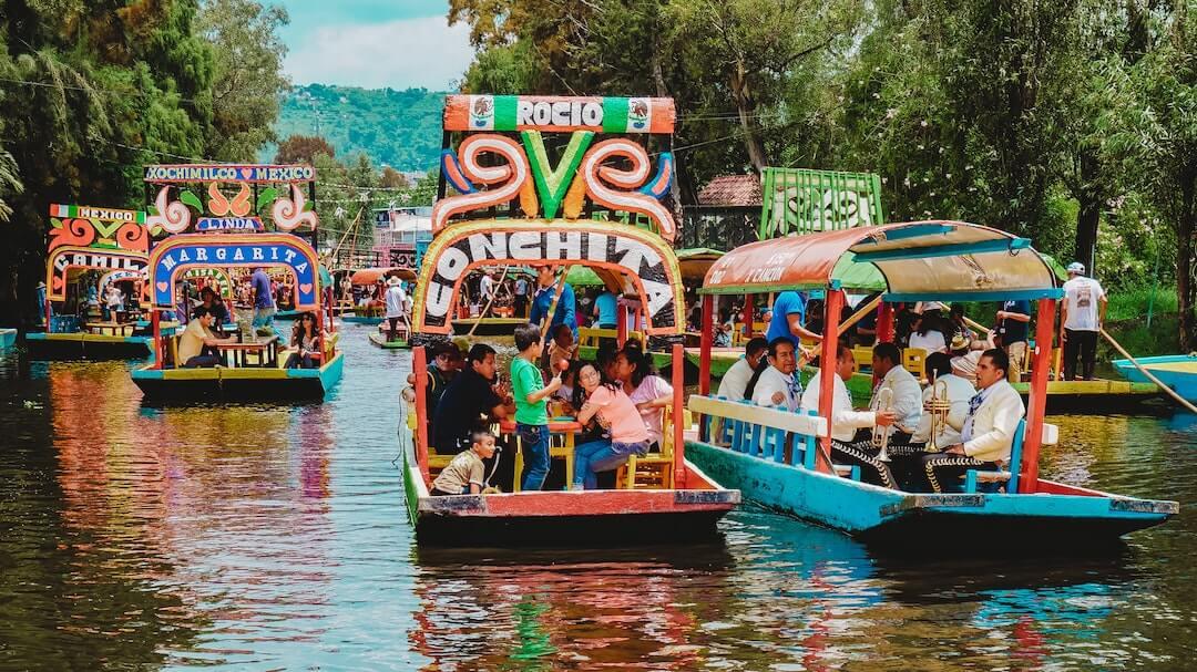 xochimilco is a popular mexico destination