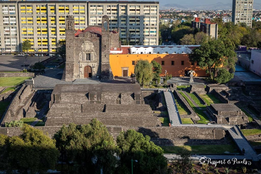 Tlatelolco and the Plaza de las 3 Culturas are a fascinating archaeological site in Mexico City
