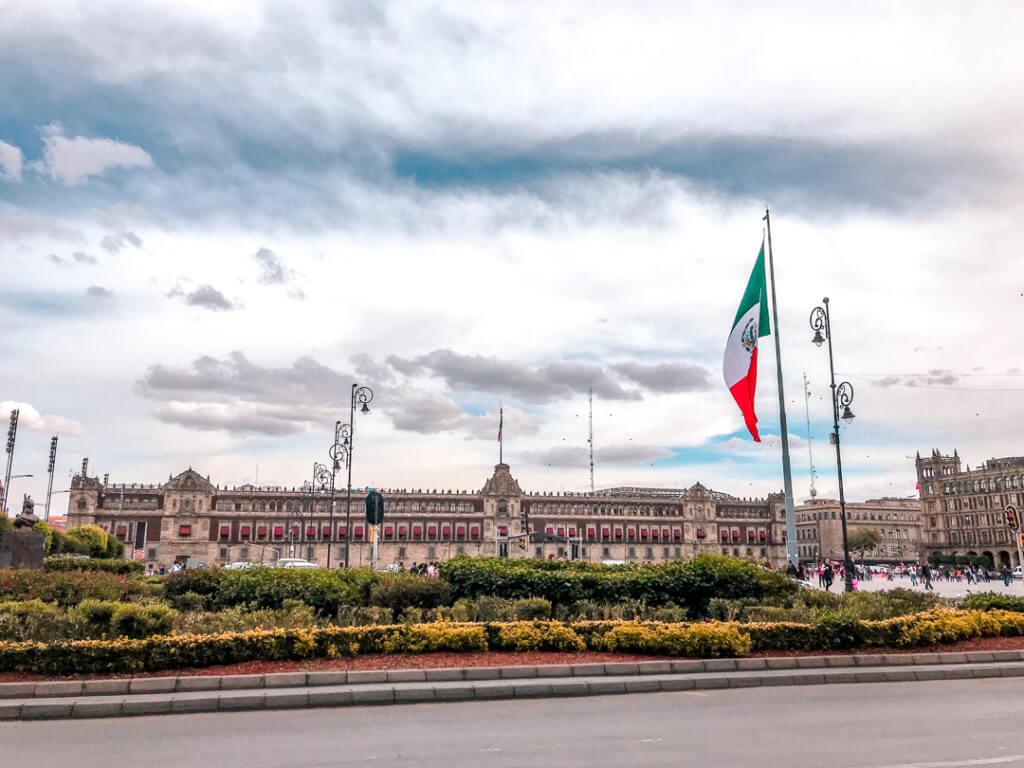 Mexico City Palacio Nacional
