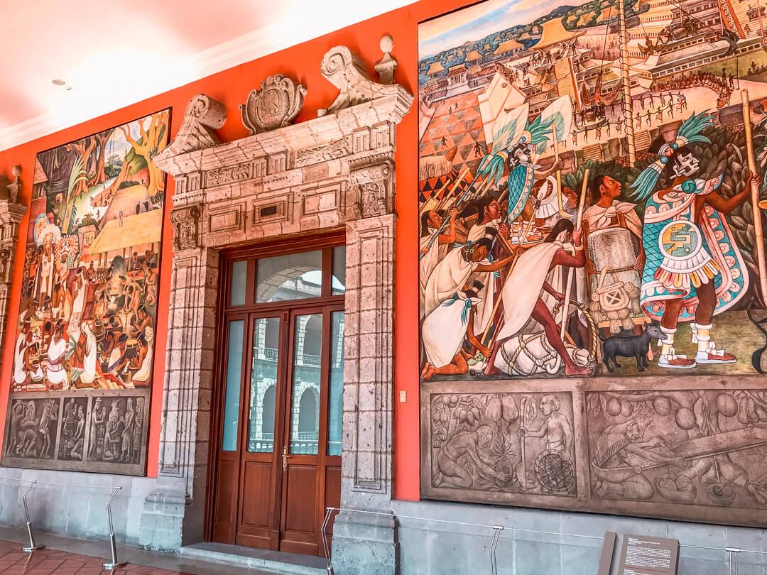 Diego Rivera murals, Palacio Nacional, Mexico City