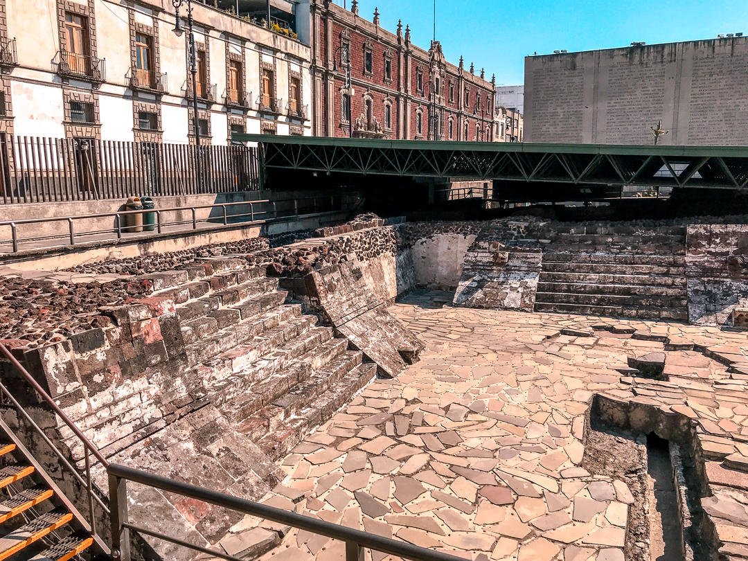 Mexico City Templo Mayor Ruin