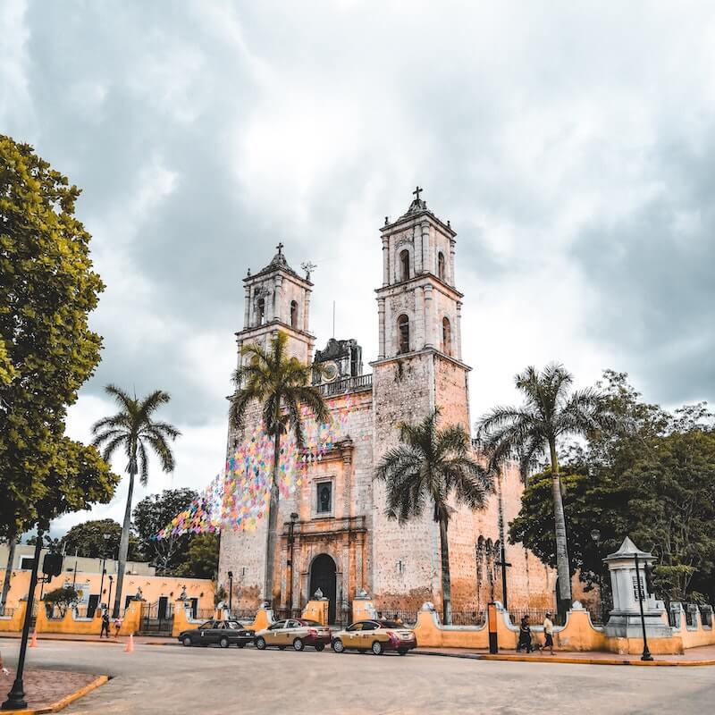 San Gervasio Cathedral, Valladolid, Mexico