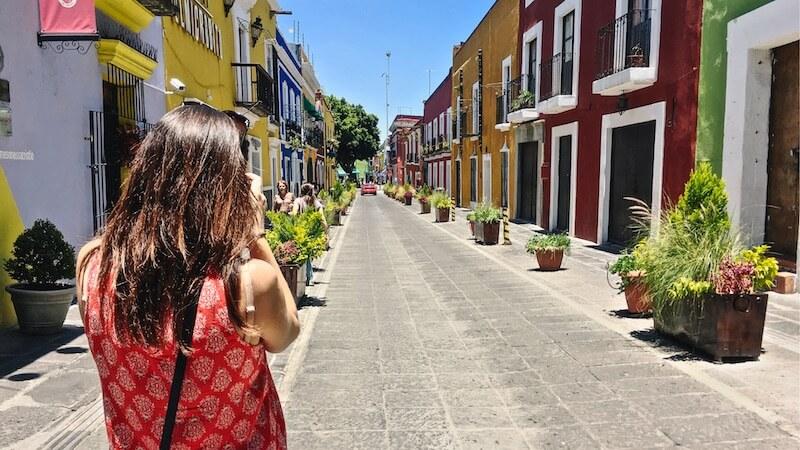Callejon de los Sapos, Puebla, Mexico