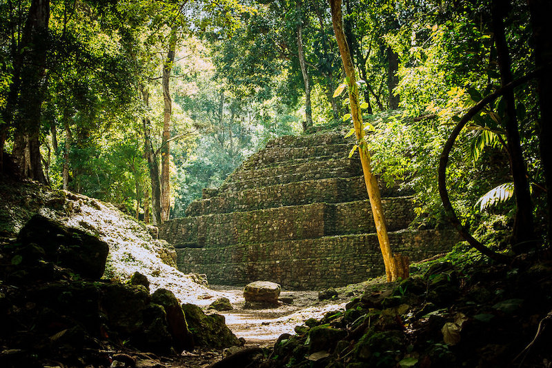 Yaxchilán is a Maya ruin deep in the jungles of Chiapas.