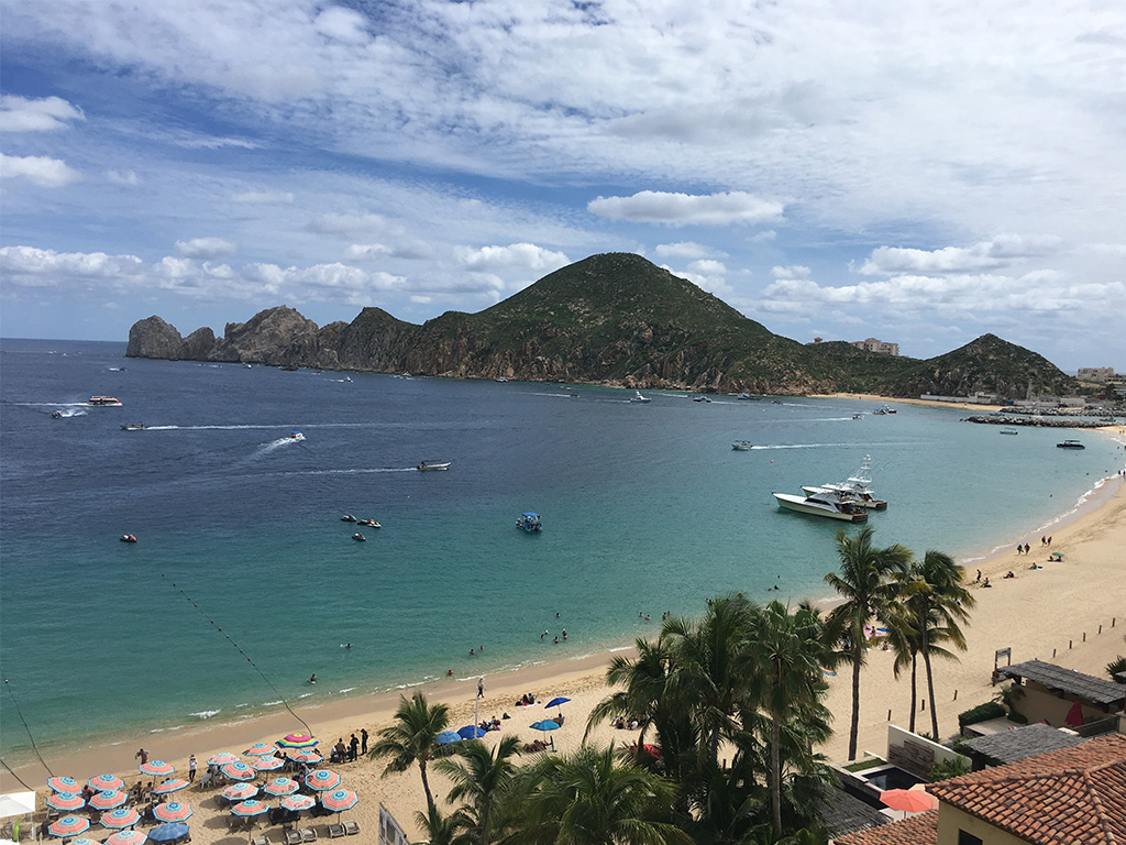 Medano Beach is one of the main attractions in Cabo San Lucas