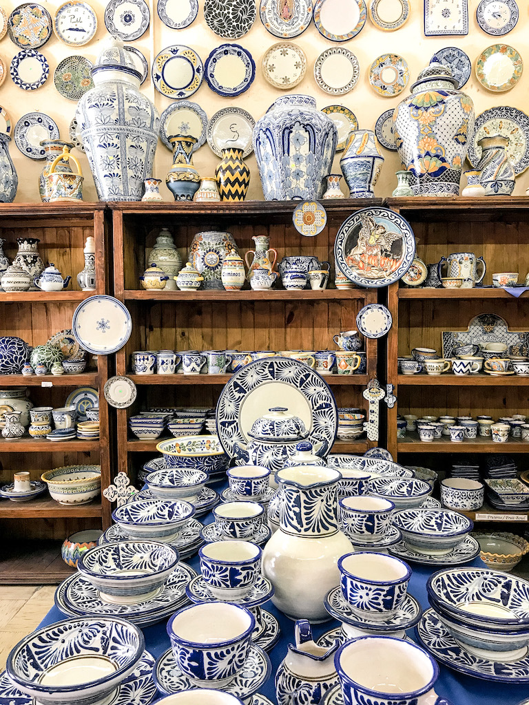 You won't be able to resist all the gorgeous Talavera you find in Puebla.