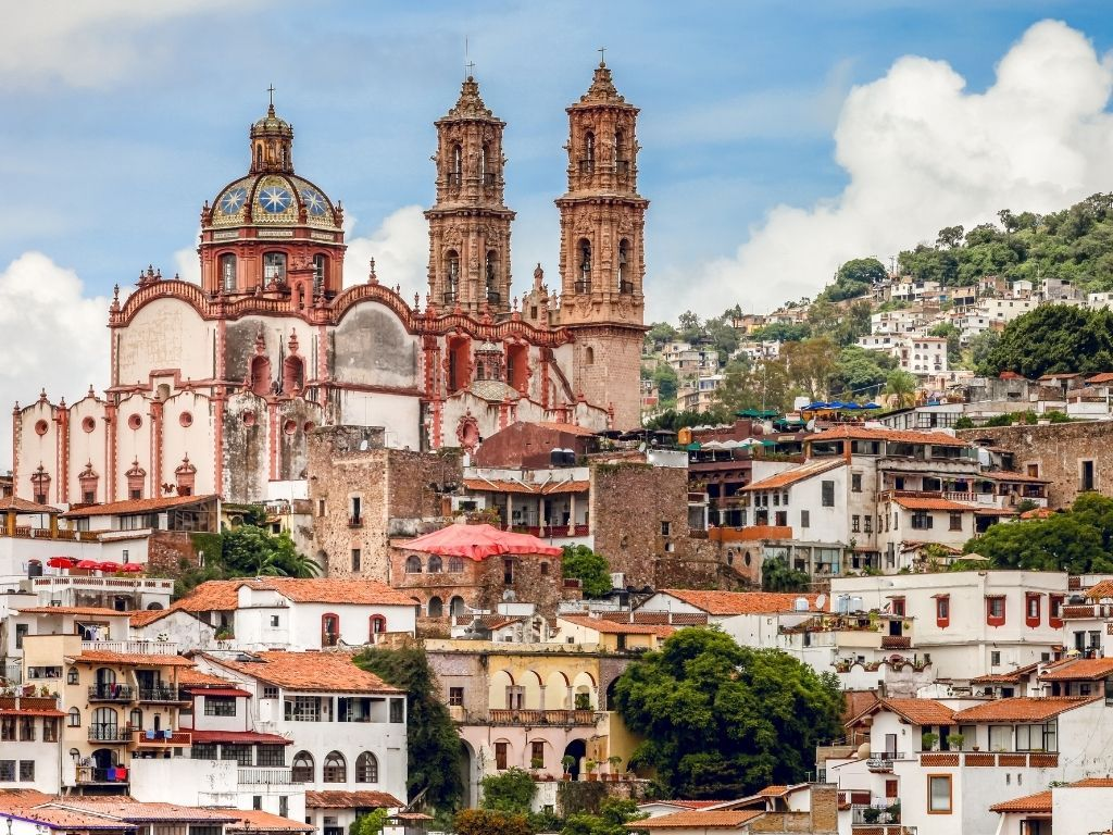 Taxco, Guerrero is a gorgeous hillside city just a few hours outside of Mexico City.