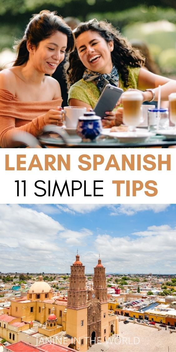 Hoping to brush up your Spanish for travel? In this article we'll go over 11 simple tips to learn Spanish fast on your own. These tactics will work for anyone who wants to learn Spanish, from beginners to advanced students. #learnspanish #languagelearning #spanish #secondlanguage #spanishfortravel